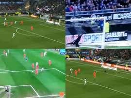 Le PSG souffre sans Neymar et Mbappé : 3-0 à la mi-temps contre Amiens ! Captura/Canal+/MovistarLiga