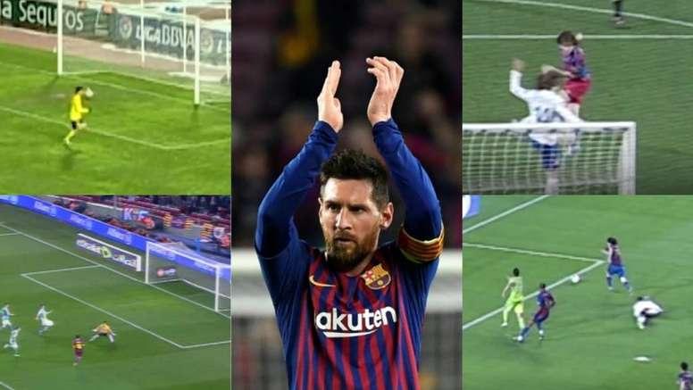 Os melhores gols de Messi na Copa do Rei. AFP/Dugout
