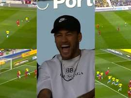 Machado répond à Paqueta, Neymar perd le sourire. Capture/DAZN