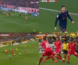 Lewandowski e Sancho continuano a segnare. beINSPORTS/ELEVENSPORTS