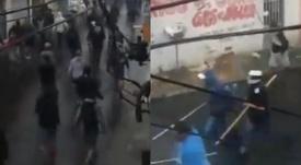 Tres heridos de bala en una pelea entre hinchas de Sao Paulo y Corinthians. Capturas/lostribuneros