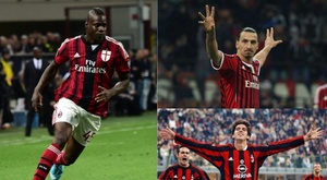 Ibrahimovic, Balotelli e Kakà? EFE/ACMilan