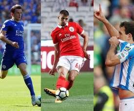Les quatre transferts que Guardiola veut boucler en janvier. Montage/EFE/AFP