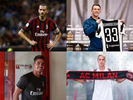 Four of the most expensive signings in Serie A this summer. BeSoccer