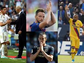 Les 10 joueurs qui pourraient quitter le Barça et le Real en janvier. Montaje/AFP/EFE