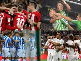 Les stats du premier tiers de la Liga 2019-20. EFE/AFP