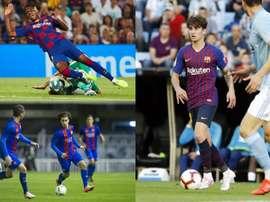 Les 10 jeunes de La Masia qui ont fait leurs débuts avec Valverde. EFE
