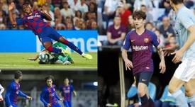 Le 10 promesse blaugrana che hanno debuttato con Valverde. EFE/FCBarcellona