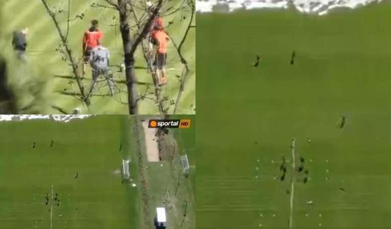 En Bulgaria no se puede hacer deporte al aire libre. Captura/sportalHD