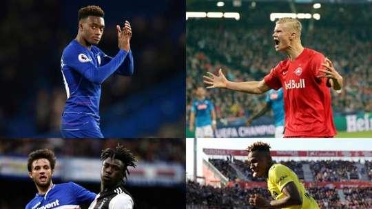 Laquelle de ces quatre jeunes promesses signera au Real ? EFE/AFP