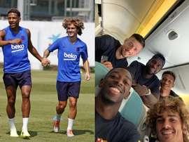 Le Barça est fier de sa French Connection. Twitter/FCBarcelona