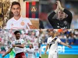 Rooney e Ibra entre os jogadores mais bem pagos da MLS. AFP