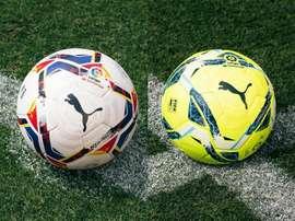 LaLiga apresenta as bolas da temporada 2020-21. Twitter/LaLiga