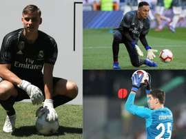 Lunin, Navas and Courtois, who will stay? EFE/AFP
