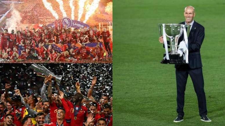 Los mejores partidos de fútbol en septiembre. EFE - AFP