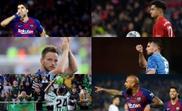 Os nomes que afetam o Barcelona no mercado. EFE - AFP