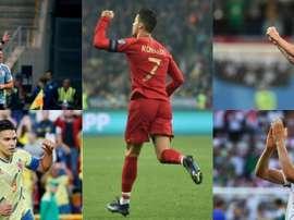 Les meilleurs buteurs des sélections nationales. EFE-AFP