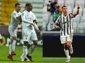 Marcel Hernandez supera Ronaldo. AFP