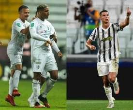 El único tipo de 223 ligas que lleva más goles que Cristiano en 2020. SC Cartaginés - AFP