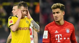 Dortmund-Bayern: Reus, Coutinho and the big absentees . AFP