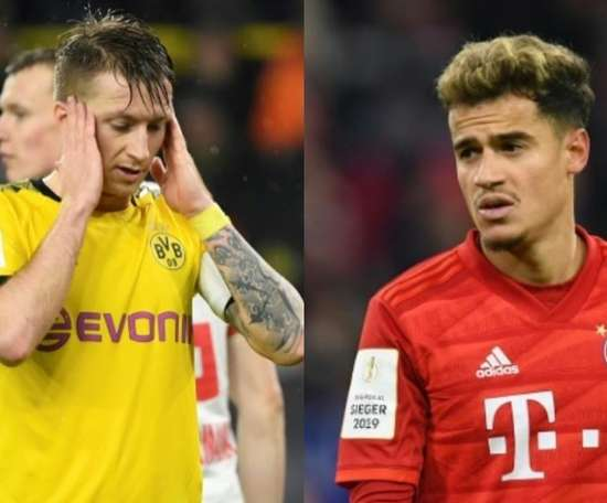 Dortmund-Bayern: Reus, Coutinho and the big absentees . AFP