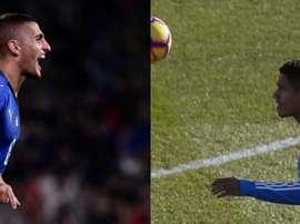 Manchester United a tenté Varane et Verratti. AFP - EFE