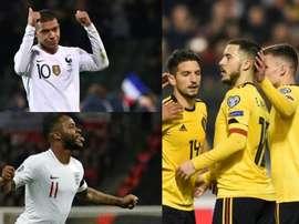 Objets du désir de Madrid, stars de leur sélection. AFP