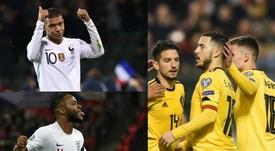 Deseos del Madrid, estrellas de su Selección. AFP