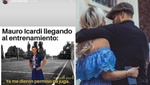 Barijho, cruel, compartió un meme de Icardi y su crisis con Wanda Nara