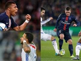 Sete destaques da Ligue 1 para acompanhar de perto. AFP/EFE