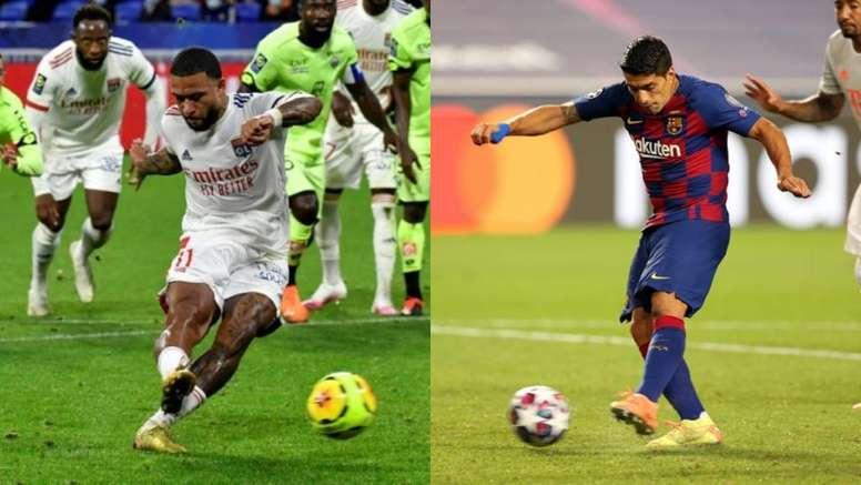 Depay est-il le 9 idéal pour remplacer Suarez AFP - EFE