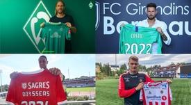 Algunos de los movimientos del mercado. WerderBremen/Girondins/Benfica/Tromso