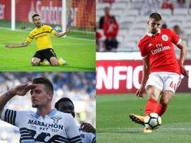 Barcelone a suivi trois joueurs durant le Portugal-Serbie. AFP