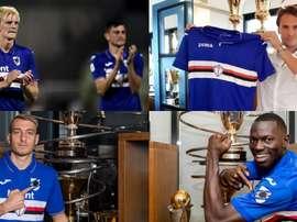 Cinco positivos más en la Sampdoria. UCSampdoria