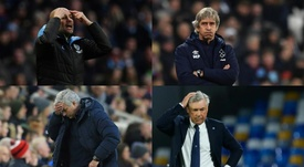 The coaches which have spent over a billion euros. EFE/AFP