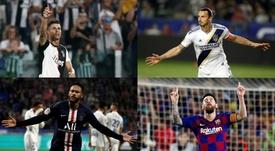 Les joueurs qui gagnent le plus d'argent sur Instagram. EFE/AFP