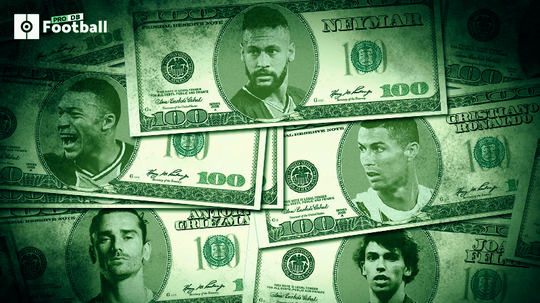 The 10 most expensive signings in the history of football. ProFootballDB