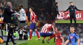 Las grandes ligas tienen a equipos importantes en apuros. EFE - AFP