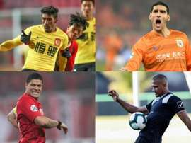 20 stars internationales qui jouent en Chine. EFE-AFP