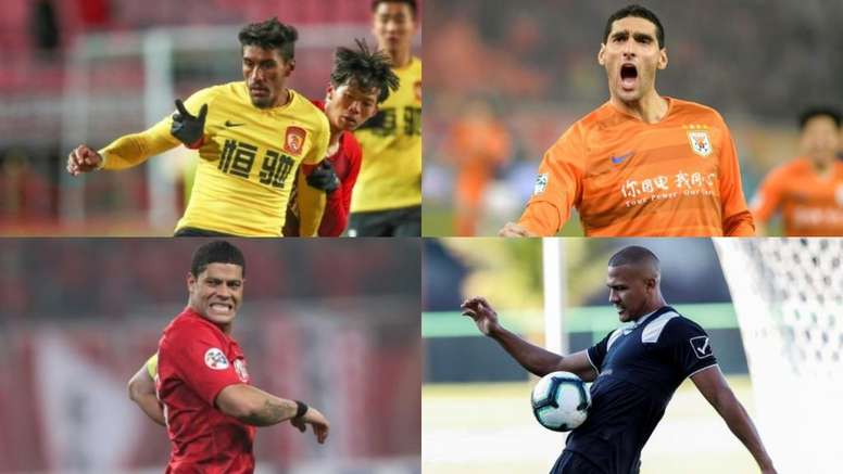 China sigue contando con grandes estrellas. EFE - AFP