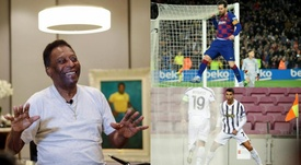 Messi e Ronaldo danno la caccia a Pelé. EFE