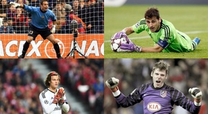 Os goleiros mais precoces na Champions. EFE