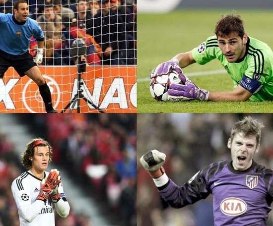 Les gardiens de but les plus jeunes qui ont débuté en Champions League. EFE