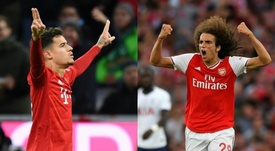 Coutinho could go to Arsenal and Guendouzi to Barca. AFP