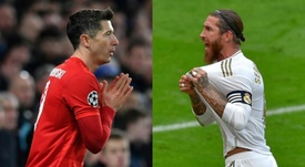 Lewandowski and Ramos will miss out on the chance of a Ballon d'Or. AFP