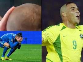 Le jeune supporter a eu la coupe de Ronaldo… mais pas celui qu'il voulait. Twitter/IntChampionsCup/E