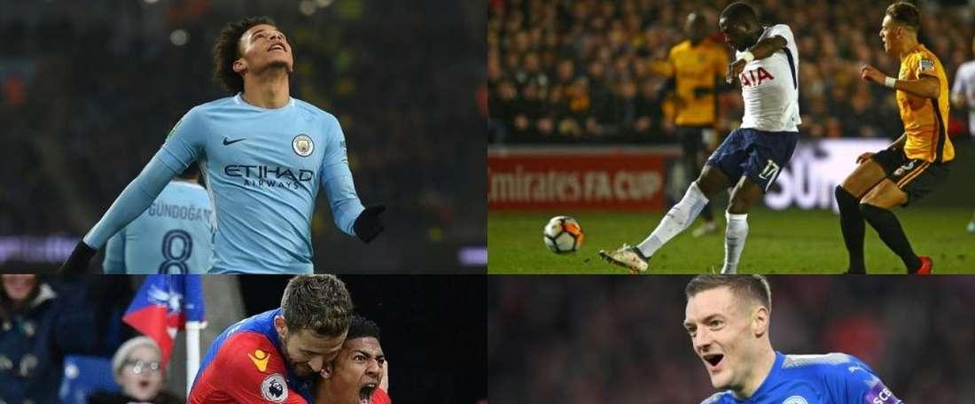 Os jogadores mais rápidos da Premier league. BeSoccer