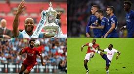Estos son los onces ideales de la Premier League 19-20. EFE-AFP