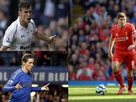 11 stars de Premier League qui n'ont pas gagné le titre. EFE-AFP
