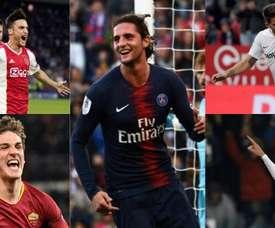 Cinque giocatori nel mirino di Monchi. EFE/AFP